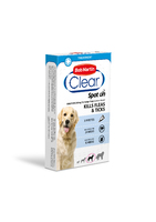 Bob Martin Flea-Clear Spot-On Large Dog Flea Drops 3 Tube x 1