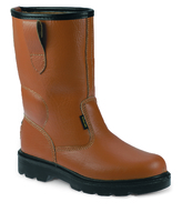 Leather Rigger Boot Tan 42-8
