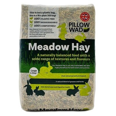 Pillow Wad Bio Meadow Hay Large 2.25kg