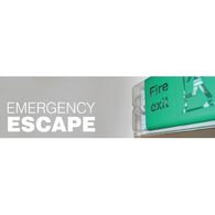 Emergency Escape Safety Signs