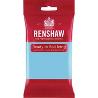 RENSHAW READY TO ROLL ICING BABY BLUE (2 x 2.5 Kgs)