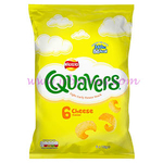 Walkers Quavers Cheese 6pk x20