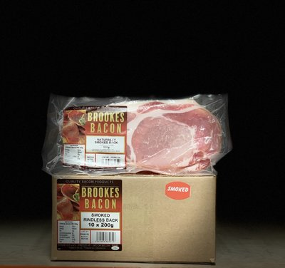 Bacon Smoked or Unsmoked 200g