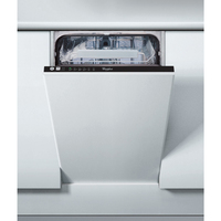 WHIRLPOOL SLIMLINE BULIT IN A+ENERGY DISHWASHER WITH 10 PLACE SETTING