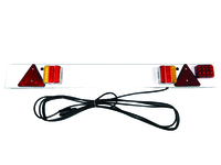 led trailer board with fog