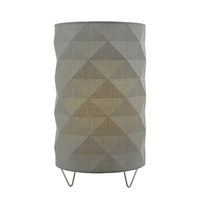 Aisha Table Lamp with Grey Shade