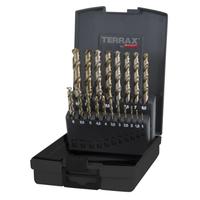 Terrax Twist Drill Set Co5 1-10mm