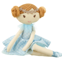 Grace rag doll sitting