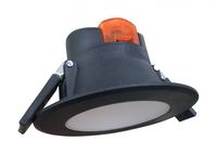 7W LED PVC IP44 Downlight 590LM