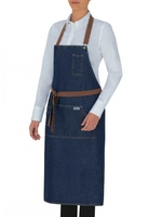 Douglas Chef Pockets Denim Apron - 18P01H013