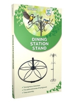 Peckish Bird Dining Station Patio Stand