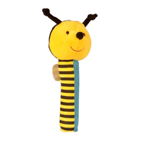Buzzy bee Squeakaboo toy for babies