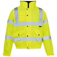 Hi Vis Bomber Jacket EN471 Yellow