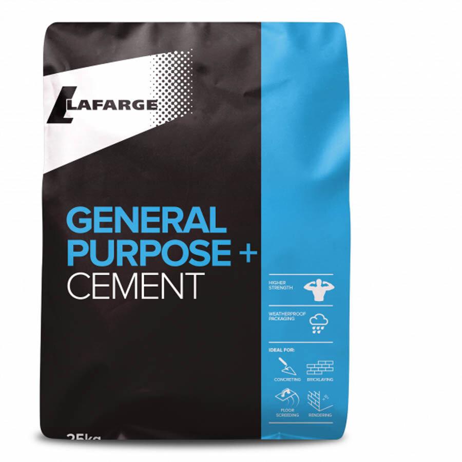 Lafarge General Purpose+ Cement 25kg Plastic