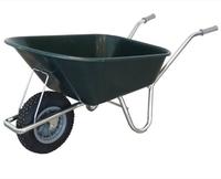 County Countryman Wheelbarrow Plastic 130-165lt - Green