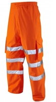LEO INSTOW High Visibility Orange Over-Trousers