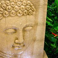 Buddha LED Water Feature 100CM Nirvana Falls