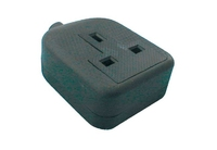 Socket 1 Gang Rubber 240v 3 pin