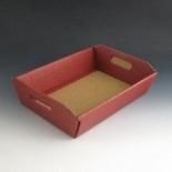 Basket 8. Burgandy 310 x 220 x 90mm.(Pack Of 10)