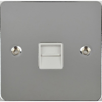 Flat Plate PC 1G MASTER Socket White LV0701.0584