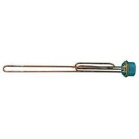 "Immersion Heater 11"" Single Element 2m Cable 710547"