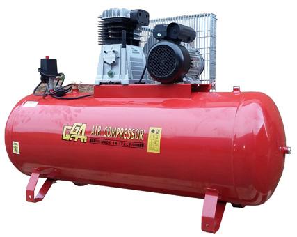 Gga 200l Compressor 3hp 230v Se16c200 Howden Tools