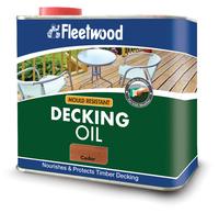 Fleetwood Decking Oil 2.5Ltr Cedar