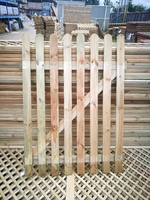 ROUNDED TOP PICKET PALE GATE 1.2M X 0.90M
