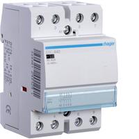 Contactor Hager ES440 40Amp Contactor 4 N/O