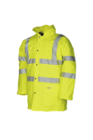 Sioen Tacana Hi-vis winter rain jacket