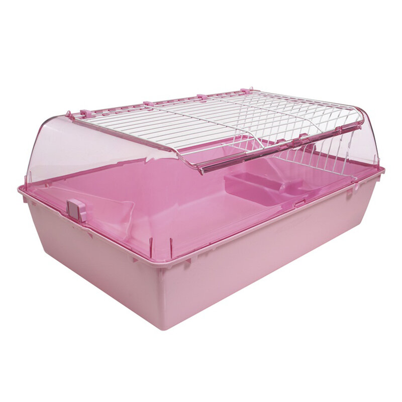 Hagen Zoozone Small Animal Cage Pink - Medium