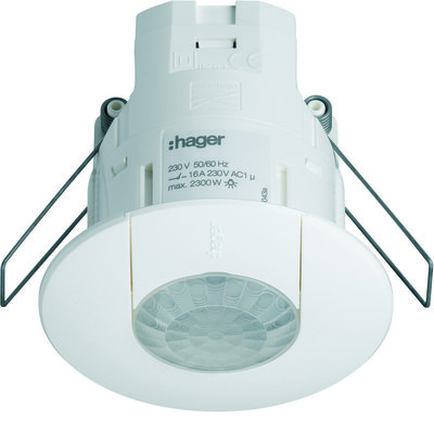 Hager EE815 Flush Mounted Presence Detector 360° Monobloc