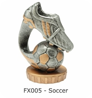 Soccer Flex Figure 75mm (Silver & Gold)