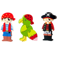 Mini Puzzle Set - Pirate