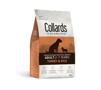 Collards Adult Dog - Turkey & Rice 2kg
