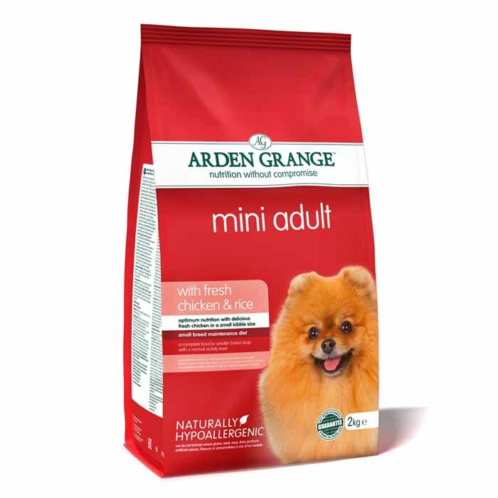 Arden Grange Mini Adult – with fresh chicken & rice