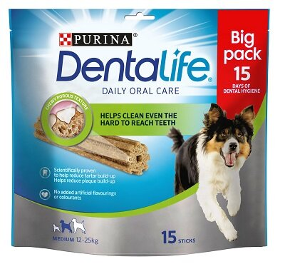 DentaLife Medium 3 x 15 Sticks (45 Sticks)