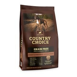 Gelert Country Choice Grain Free Turkey & Vegetable Dog Food 2kg