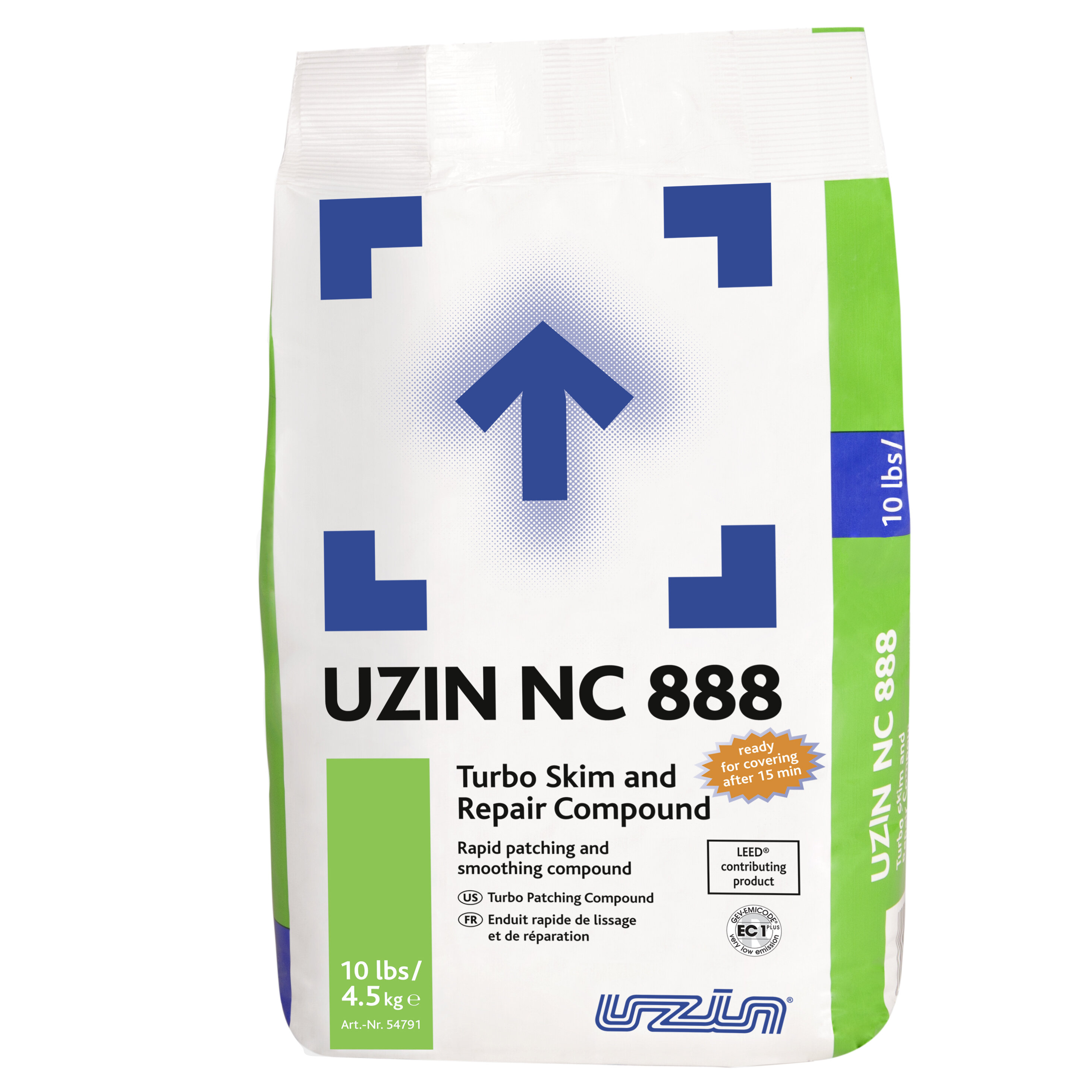 UZIN NC888 4.5kg BAG (160 PER PLT)