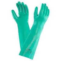 Ansell Solvex Unflocked Green Glove