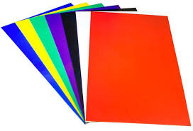 Polystyrene Vacuum Forming Sheets Pack of 50