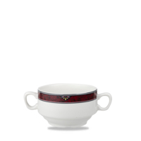 Consomme Bowl With Handles 14oz 40cl Carton of 24