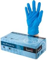 Blue Powder Free Nitrile Gloves 240mm Cuff Box 100