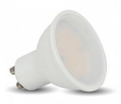 GU10 LED 5/35 Watt 400 Lumens Day Light 6400K Non Dimmable Bulb   Single
