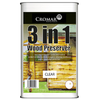 WOOD PRESERVATIVE CLEAR 5LTR