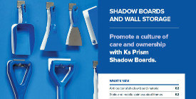 2. Klipspringer Product Guide 2017 - Shadow boards and wall storage
