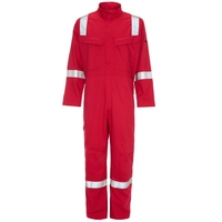 Supertouch Weld-Tex Plus FR Antistatic Coverall 350, Red