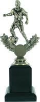 23cm Soccer Trophy on Black Pedestal (M) | TC
