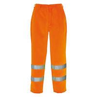 Portwest Hi-Visibility Poly-Cotton Trouser Hi-Vis Orange