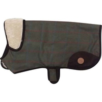 "Country Pet Dog Coat -  Tweed 35cm/14"" x 1"